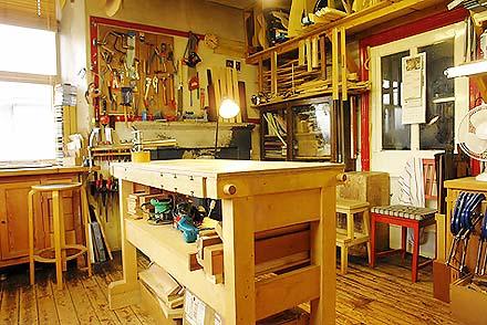 Main handwork room